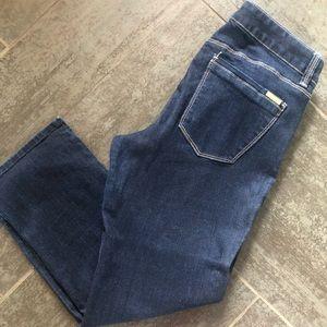 WHBM short slim Capri denim pants